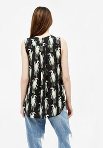 Printed Sleeveless top - AVAVAV-Firenze (1688668373061)