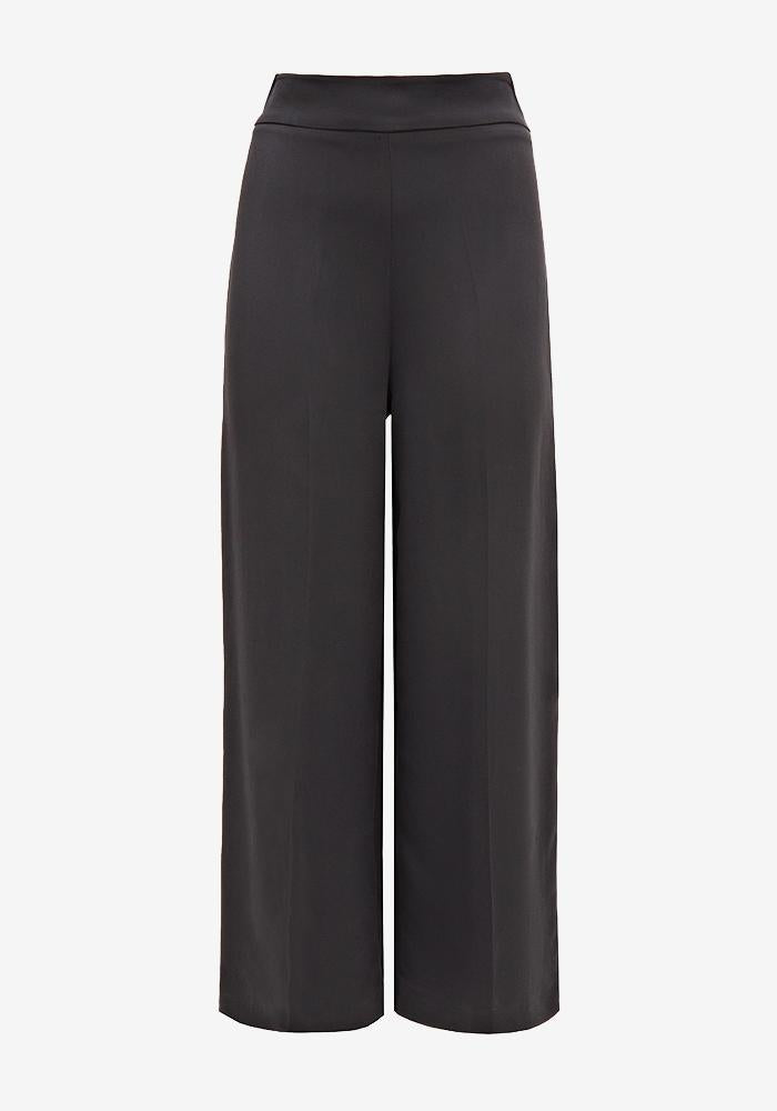 Cady Cropped Pants Black - AVAVAV-Firenze