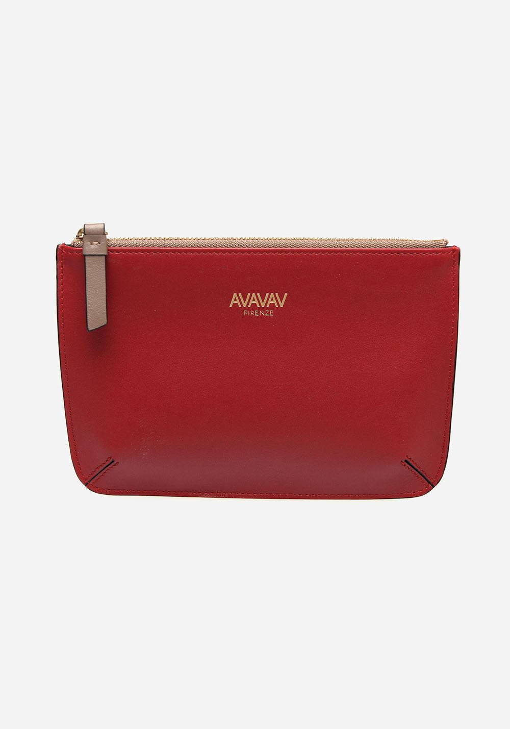 Small Pouch in Red - AVAVAV-Firenze