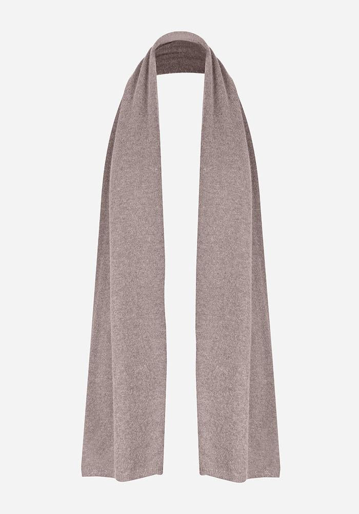 Cashmere Blend Scarf in Taupe - AVAVAV-Firenze