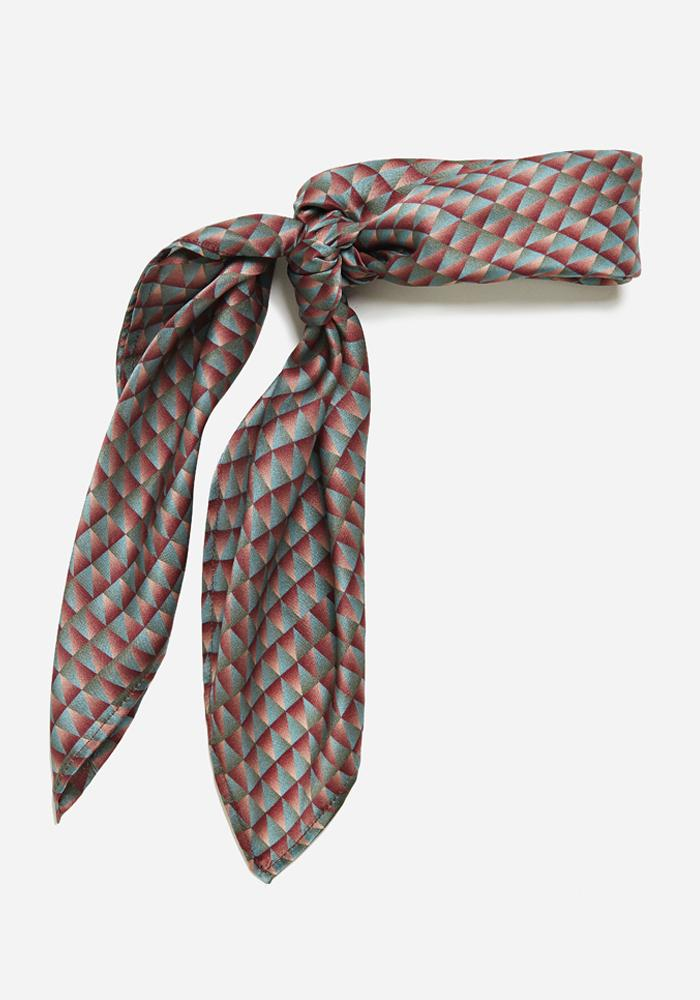 AVAVAV Scarf in Red/Green - AVAVAV-Firenze
