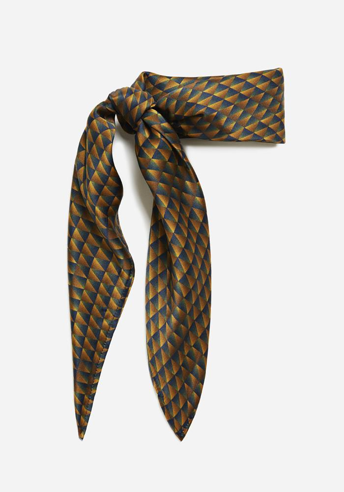 AVAVAV Scarf in Blue/Gold - AVAVAV-Firenze