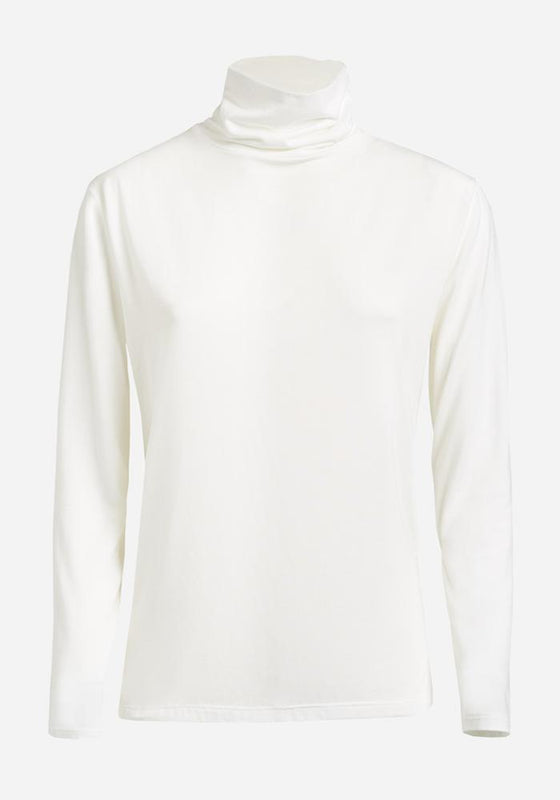 Long Sleeve Polo in Off-White - AVAVAV-Firenze