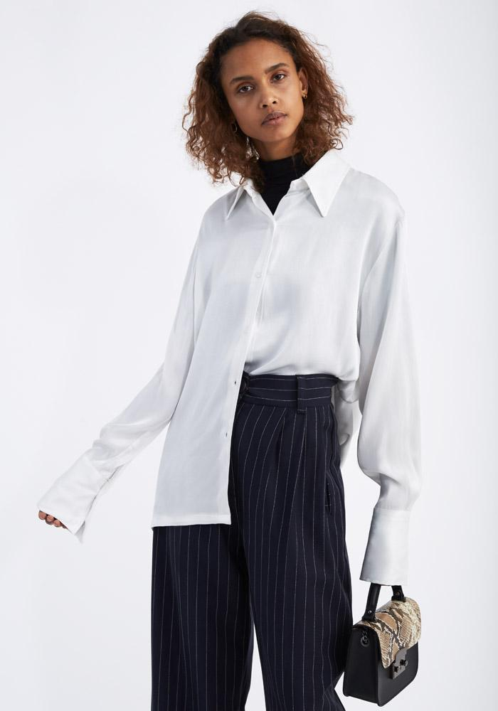 High cuff shirt white - AVAVAV-Firenze