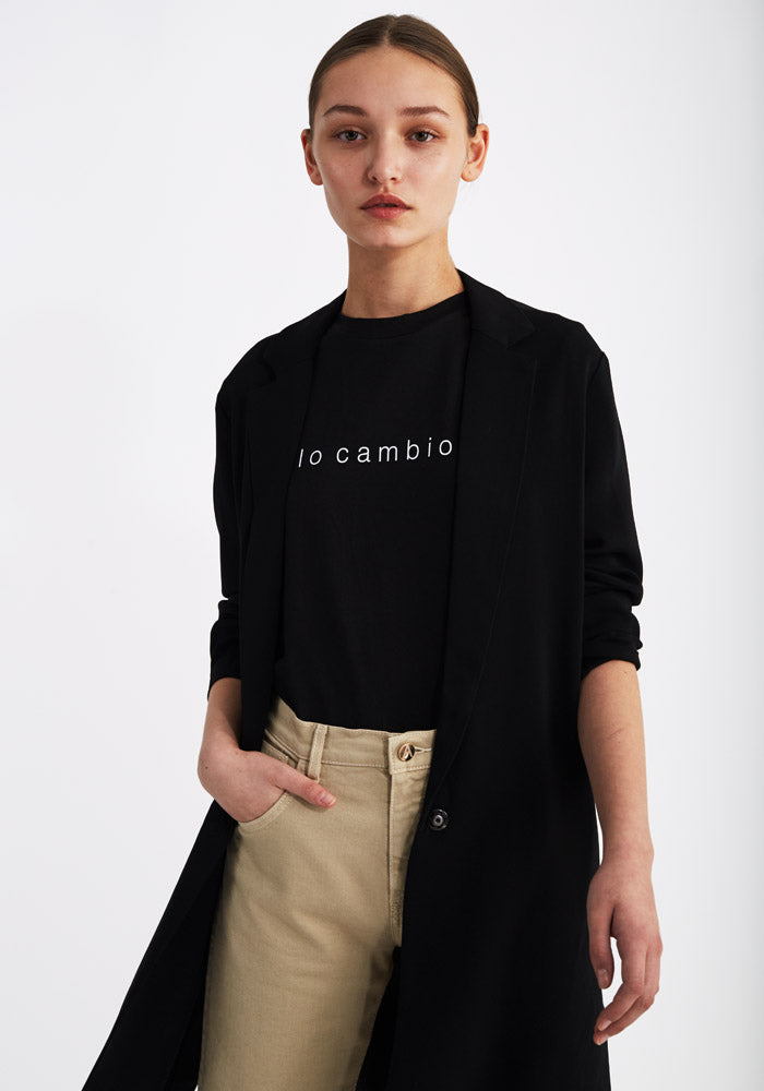 T-shirt, Io cambio black