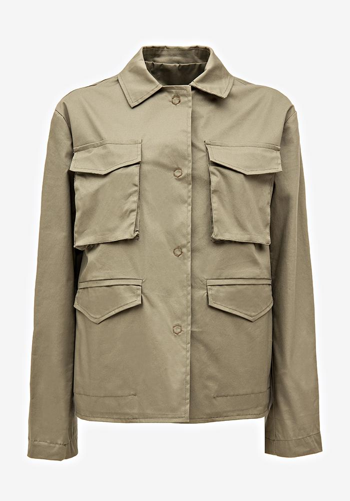 Pocket Jacket Army Green - AVAVAV-Firenze