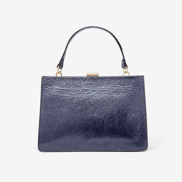 Sharp Leather Bag, navy (2145149091909)