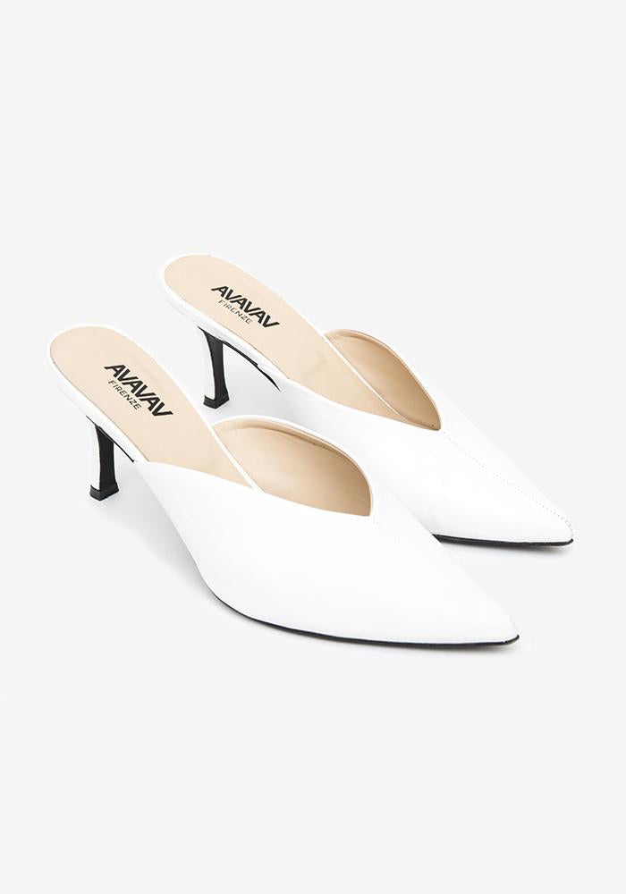 Slip in Pumps Off-white - AVAVAV-Firenze