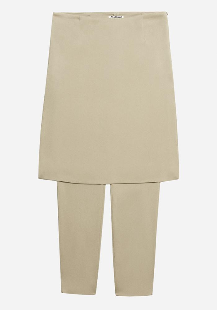 Skirt Pants in Taupe - AVAVAV-Firenze (1688679055429)
