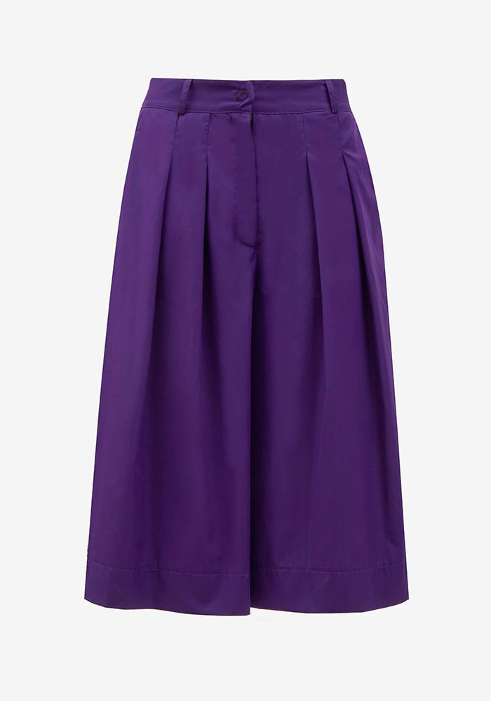 Bermuda Pants Purple - AVAVAV-Firenze
