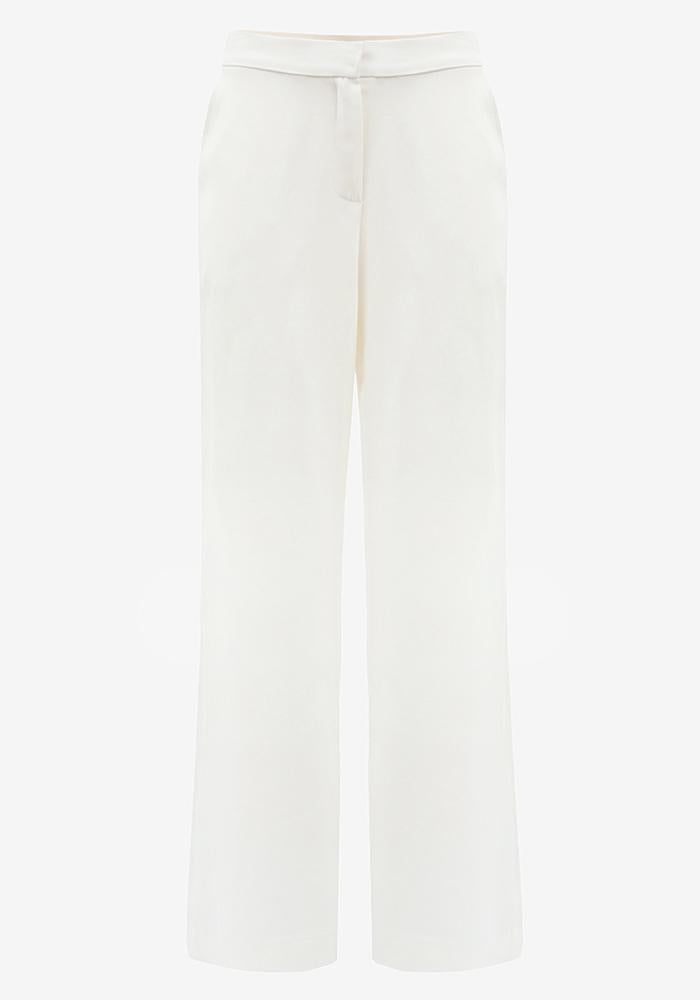 Long Wide Pants in Off-White - AVAVAV-Firenze