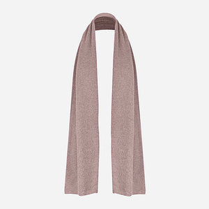 Cashmere Blend Scarf in Taupe