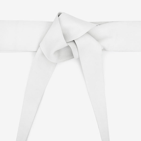 Leather Belt Off-White
