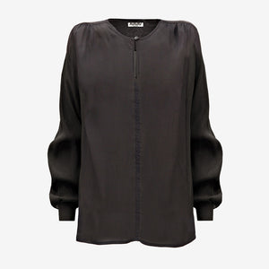 sheer blouse black (1688670961733)