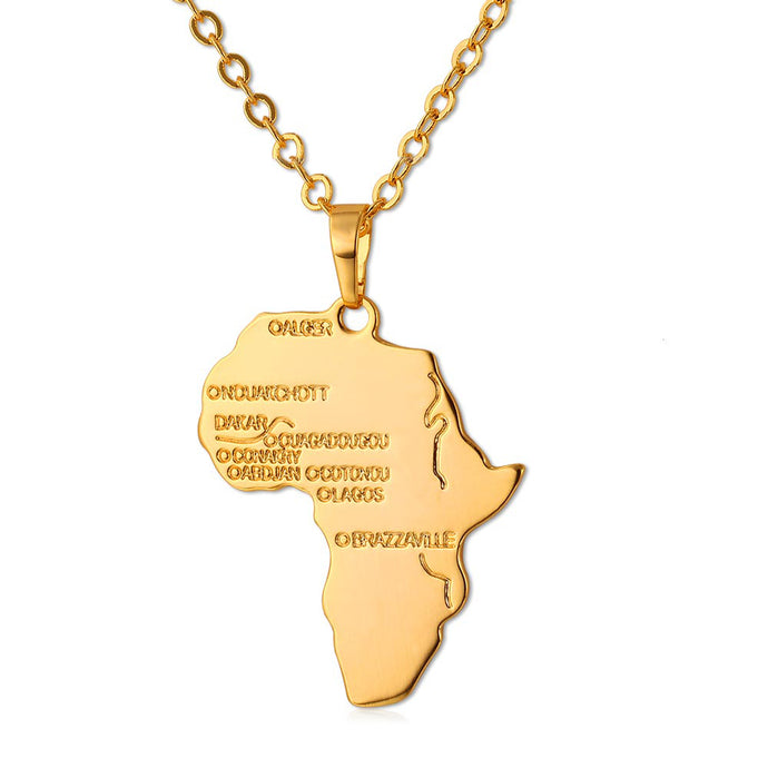 African Map Chain