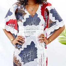 Ankara SLIT Lace Dress