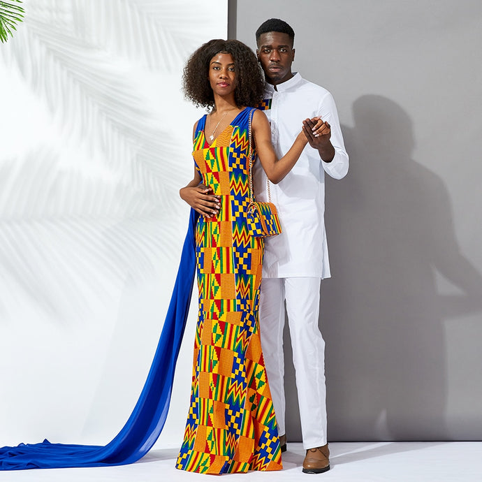 Kente Power Couple Outfit