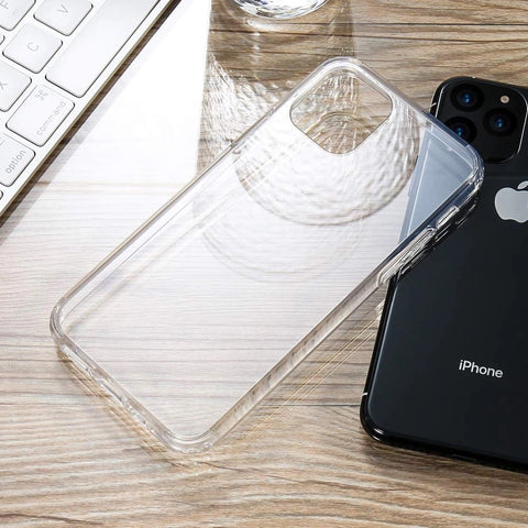Ultra Slim HD Transparent Shockproof Protective Case