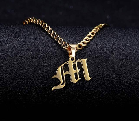 Letter jewelry customized