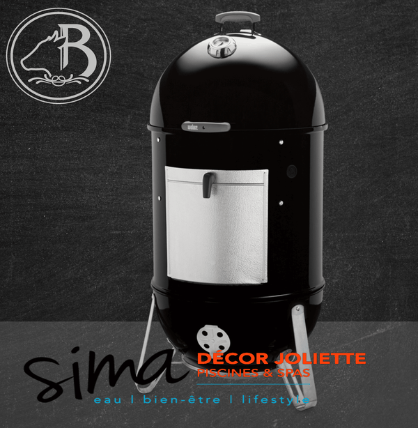 Fumoir Charbon Smokey Mountain Cooker 18 po Noir