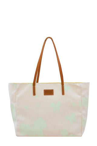 Carolyn AFRICA'S OUT Tote Bag - Ambrosia Green - Front