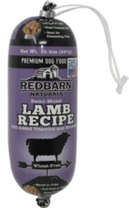 Redbarn  Naturals Dog Food  Lamb Roll- 10.5 oz / 2lb 3 oz - Woof Woof Baby