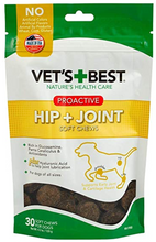 Load image into Gallery viewer, Vets Best Hip + Joint PROACTIVE Soft Chew - 4.2 Oz/30 Day - Woof Woof Baby