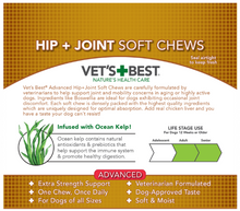 Load image into Gallery viewer, Vet's Best ADVANCED Hip & Joint Soft Chews Dog Supplements, 30 Day Supply - Woof Woof Baby