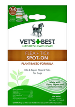 Load image into Gallery viewer, Flea & Tick Natural Topical Drops