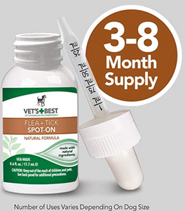 Flea & Tick Natural Topical Drops