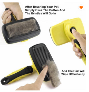 Self Cleaning Dog Brush - Woof Woof Baby
