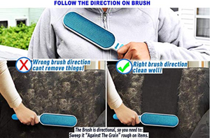 Microfiber Brush: Fur & Hair Remover - Woof Woof Baby