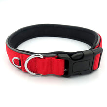 Load image into Gallery viewer, Pet Dog Collar Magic Tape Size Adjustable Reflective Padded Soft Diving Material Pet Products Cat Dog Collar