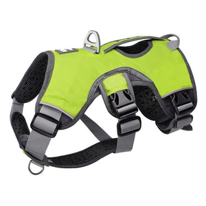 Dog Harness Vest Adjustable Strong Outdoor Reflective Adjustable for S, M, Lg, XLg