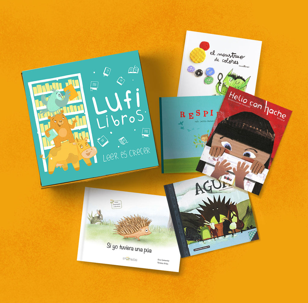 Lufi Libros Club for Pequeños Lectores (Picture Books for Ages 3+)