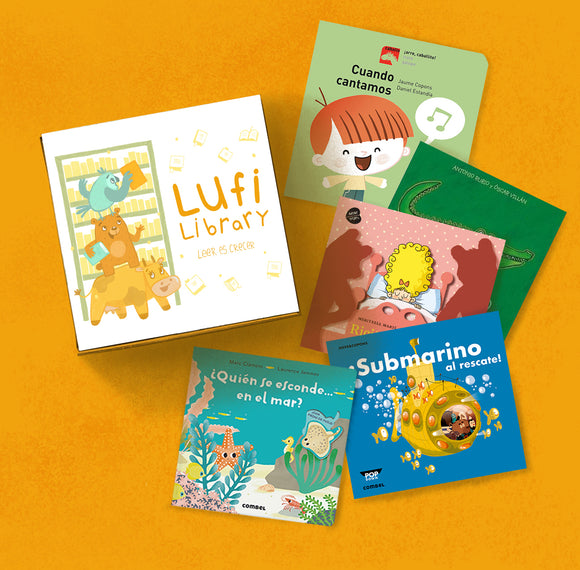 Chiquitines Library (Ages 0-3)