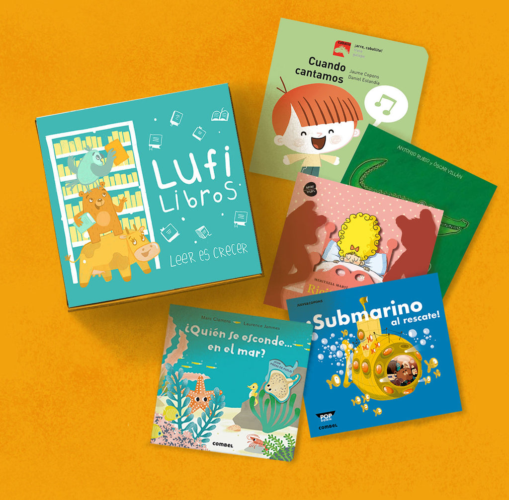 Lufi Libros Club For Chiquitines (Board Books for Ages 0+)