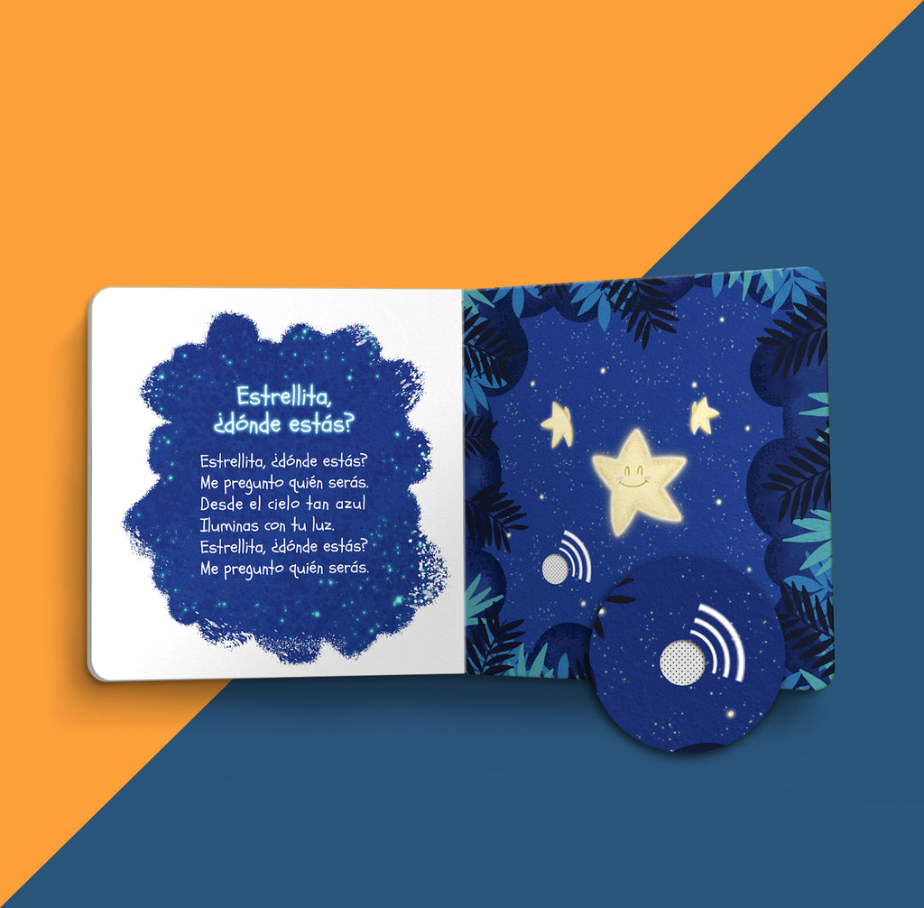 My First Lullabies in Spanish (Pre-Order)