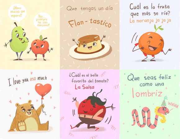 LUNCH BOX NOTES EN ESPAÑOL!