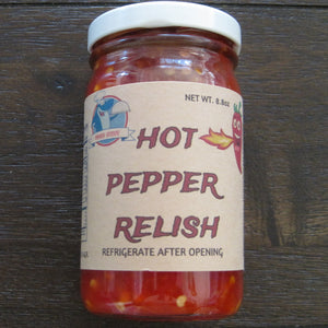 PEPPER RELISH- HOT