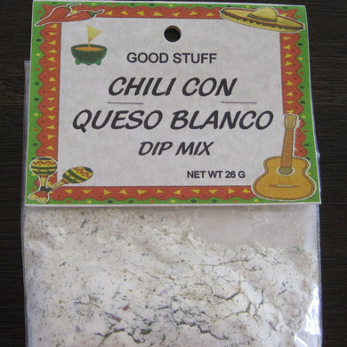 CHILI CON QUESO BLANCO