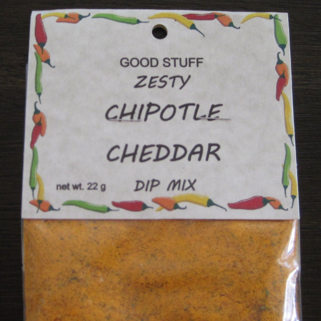 ZESTY CHIPOTLE CHEDDAR dip mix