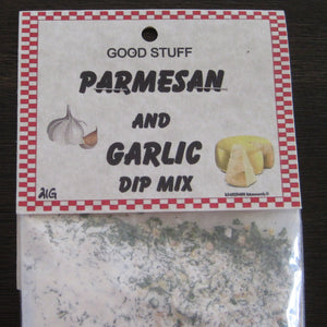 PARMESAN AND GARLIC dip mix