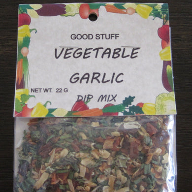 VEGETABLE GARLIC dip mix