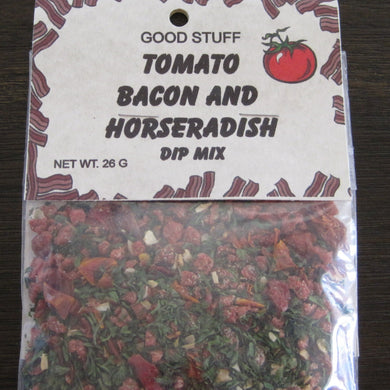 TOMATO BACON AND HORSERADISH dip mix