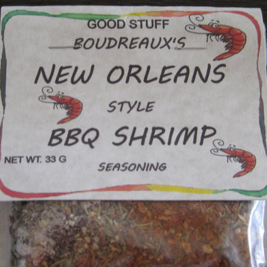 BOUDREAUXS NEW ORLEANS STYLE BBQ SHRIMP mix