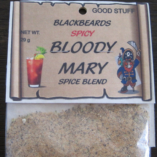 BLACKBEARDS BLOODY MARY mix, spicy