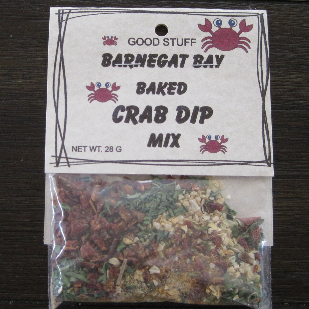 BAKED BARNEGAT BAY CRAB DIP MIX