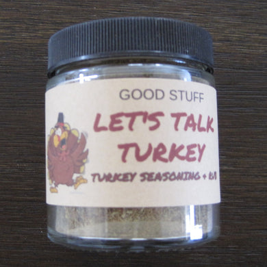 LET'S TALK TURKEY RUB