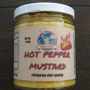 MUSTARD- HOT PEPPER